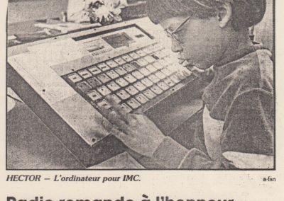 art 1987 Hector radio