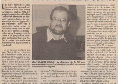 art 1991 FST Migros magazine nouv locaux