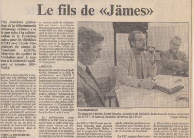 art 1994 fev fils de James
