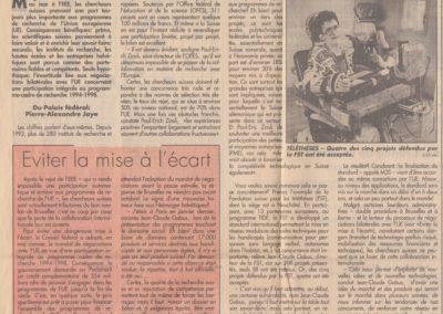 art 1994 recherche europ 2