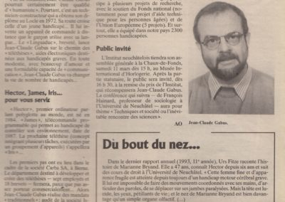 art 1995 prix institut courrier NE