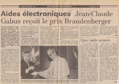 art 1997 prix brandenberger 1