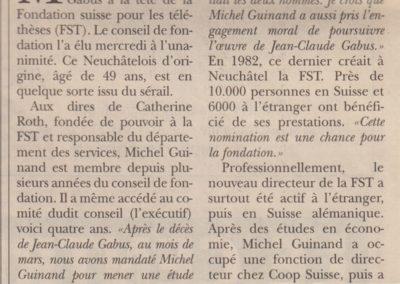art 2003 Déces succession FST